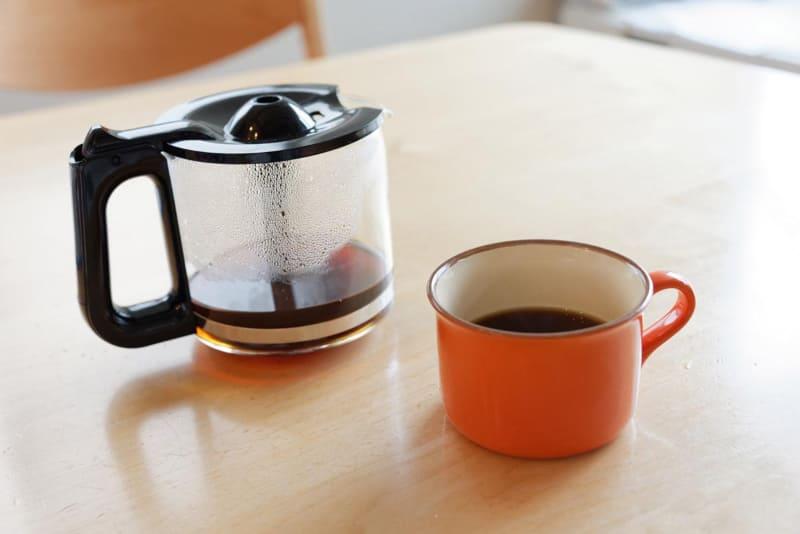 ほぼ全自動でコーヒーができあがるのは本当に助かる
