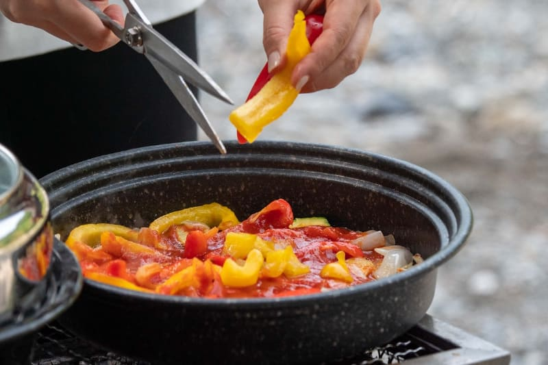 プレートを付けずに調理すれば煮込みが可能
