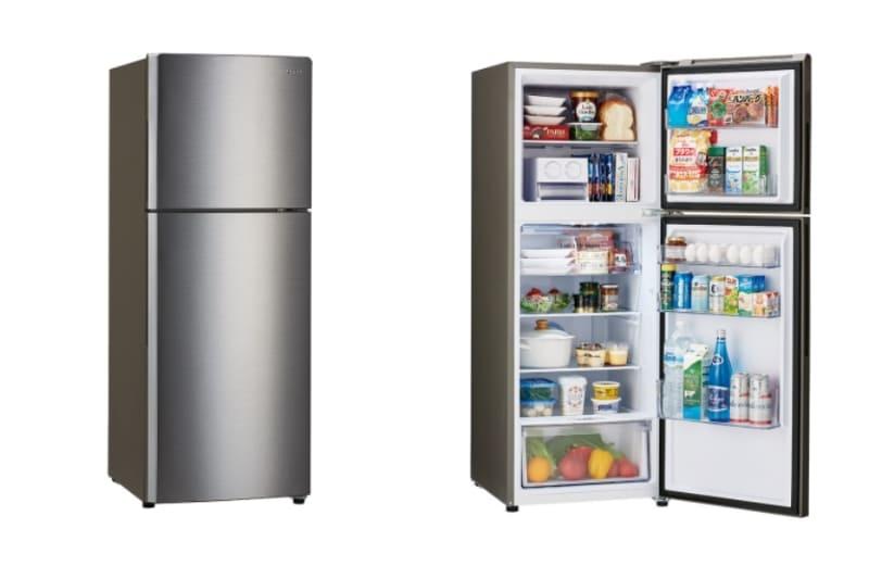 2ドア冷凍冷蔵庫「JR-NF235A」