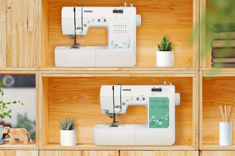 家庭用ミシン「TX30-W」(写真上)、「TX50-G」(写真下)