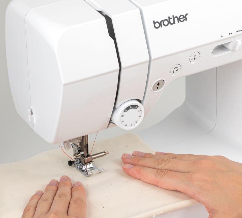 本体機構を改良し、縫製能力が向上