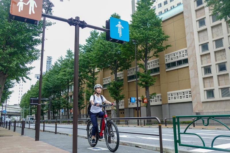 e-bikeで自転車通勤してみました