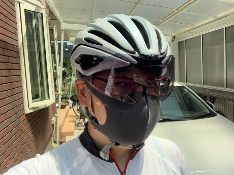 自転車に最適なマスクを模索中。ウレタンタイプは呼吸はとてもラクなので重宝していたものの、夏で汗をかくようになると不快に