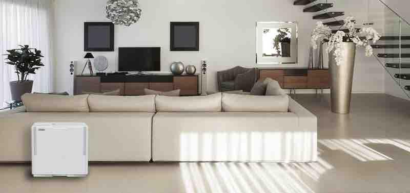 パワフルでエコ、清潔感のあるホワイト基調のデザインも特徴