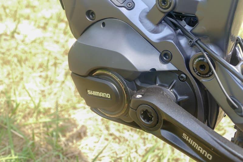ドライブユニットはハイエンドモデルのシマノSTEPS「E8080シリーズ」