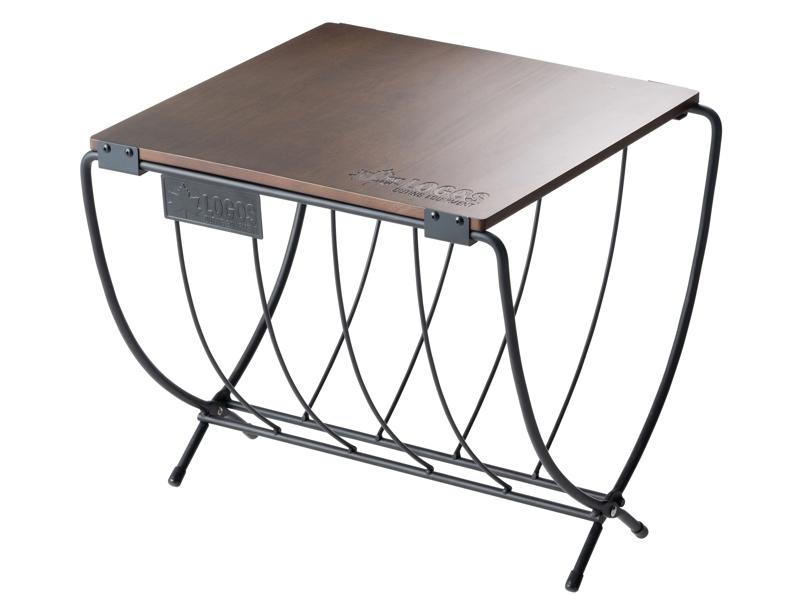 ワイド薪ラックウッドテーブル