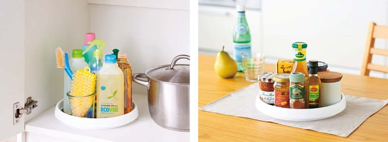冷蔵庫内だけでなく、シンク下や食卓などさまざまな場所で利用できるという
