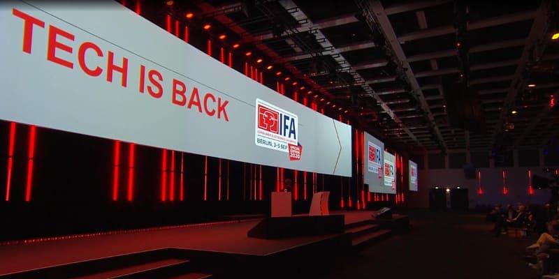 IFA 2020は現地で限定数のプレスが参加したほか、オンラインで会見の模様がライブ配信