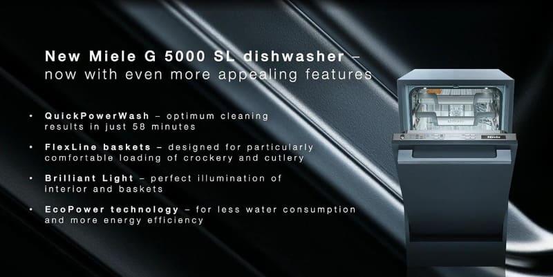 ビルトイン食洗機の「G 5000 SL」