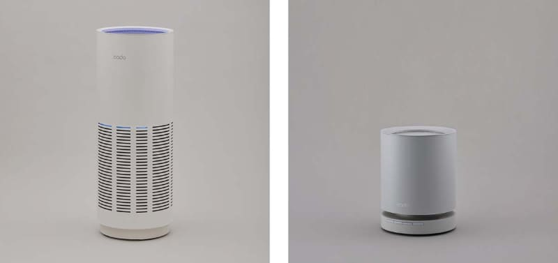 LEAF320(左)とLEAF120(右)
