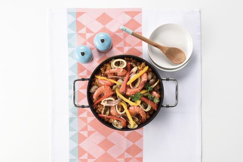 熱々の料理をそのまま食卓へ出せる
