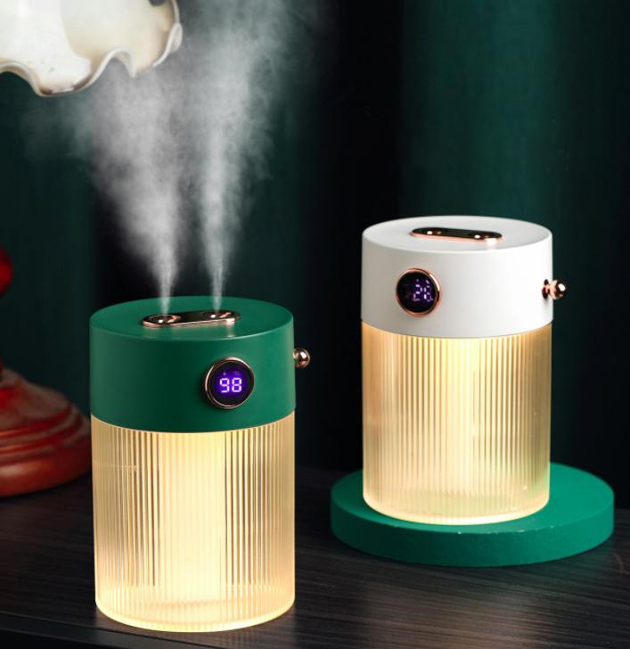 2吹口付き クリスタル加湿器