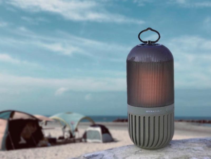 IP65の防塵・防水設計なのでキャンプでも安心して使える