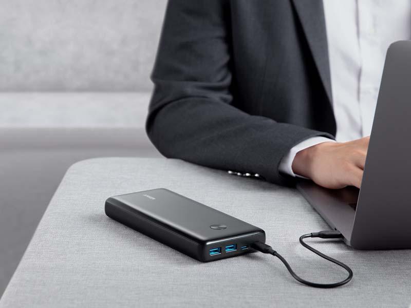 USB Type-C対応のノートPCをフルスピード充電できる