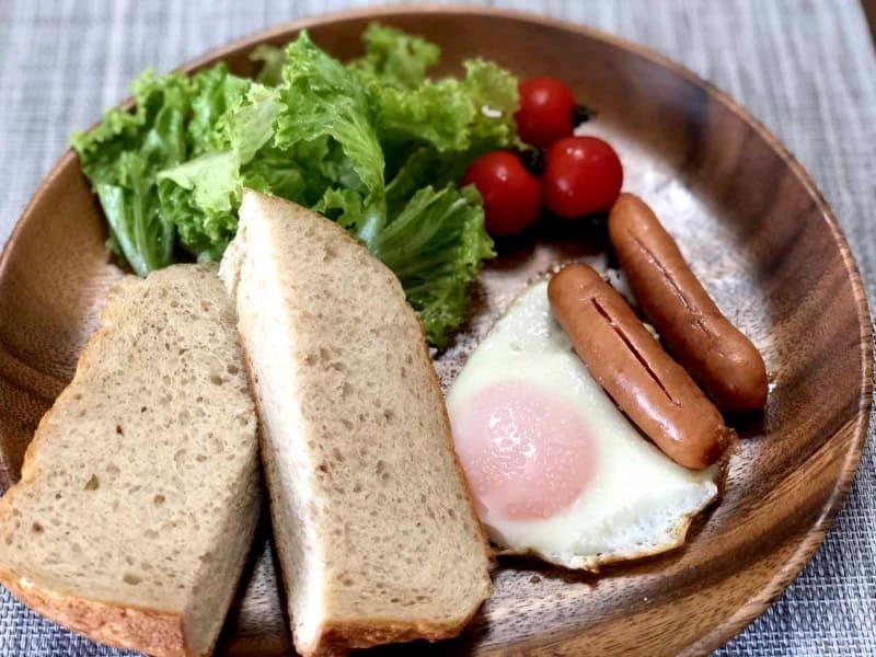生で食べると、それなりにブラン感(?)は伝わってくるが、やわらかいので食べやすい。筆者はおいしく感じたが、夫や息子は、少し苦手だという