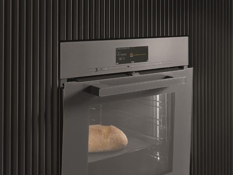 予熱で調理が進まないよう、ドアを開け庫内の温度を下げる「TasteControl」機能