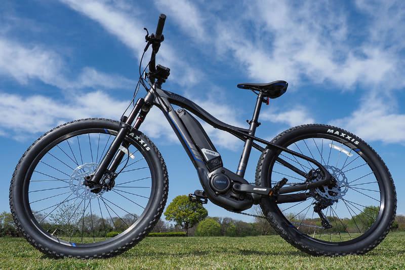 2020年モデルの「YPJ-XC」。こちらはフロントサスペンションのみのe-MTBで、最新のe-MTBであるYPJ-MT Proの兄弟的存在です。350,000円