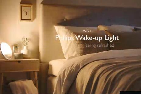 自然な目覚めと就寝をサポート