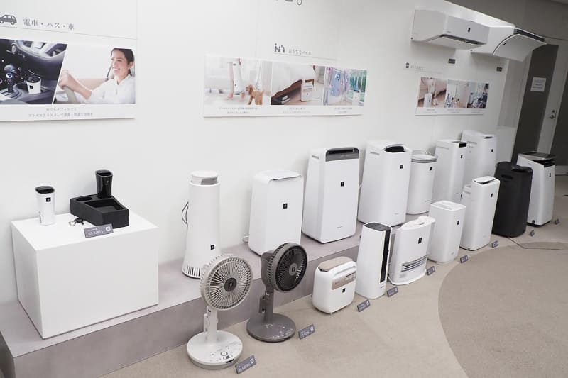 エアコンや空気清浄機など幅広い製品に