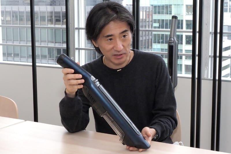 「潜在ニーズを掘り起こすことで、本当に必要とされる掃除機の形が見えてくると考えている」と話すシャークニンジャ日本法人の代表取締役・古屋和輝氏