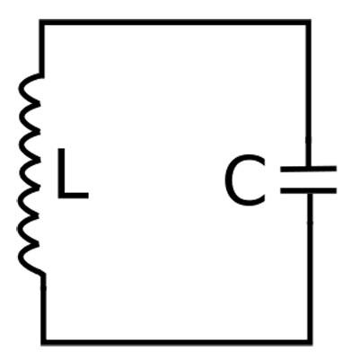 コイルとコンデンサを使ったLC共振回路。お懐かしいのでは?