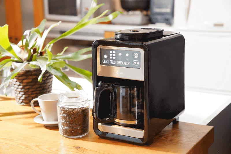 +Styleのスマート全自動コーヒーメーカー