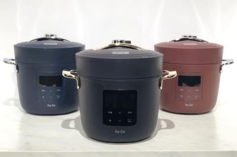 A-Stageの電気圧力鍋「Re・De Pot PCH-20L」