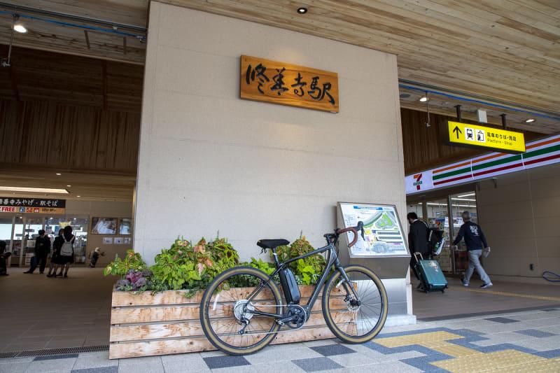 狩野川沿いをのんびり走って修善寺へ向かった。伊豆はサイクリングに適した場所というだけでなく、鉄道やバスが自転車旅をサポートしてくれる環境にある。「ROADREX 6180」を買ったらあらためて来たい場所だ