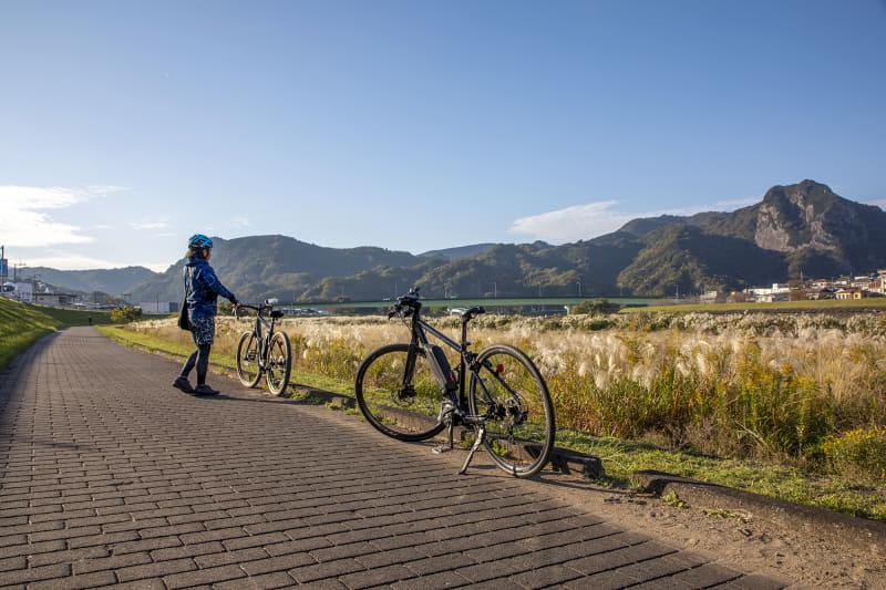 MERIDA X BASEから修善寺までのコースは、距離もほどほどで平坦路なのでロードバイク・クロスバイクモデルの乗り比べ試乗には適しているのではないだろうか。MERIDA X BASEにはこのほかにもオススメのコースがたくさん設定されているので、レンタルする自転車や体力に合わせて楽しみたい