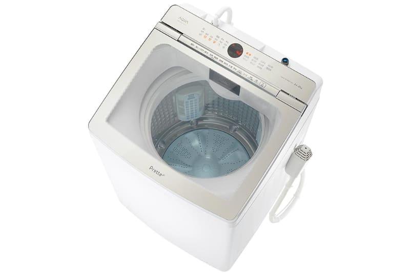 アクア(AQUA)の超音波部分洗浄機付き全自動洗濯機「Prette(プレッテ)」
