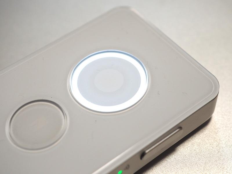「録音」ボタンのスタンバイ状態