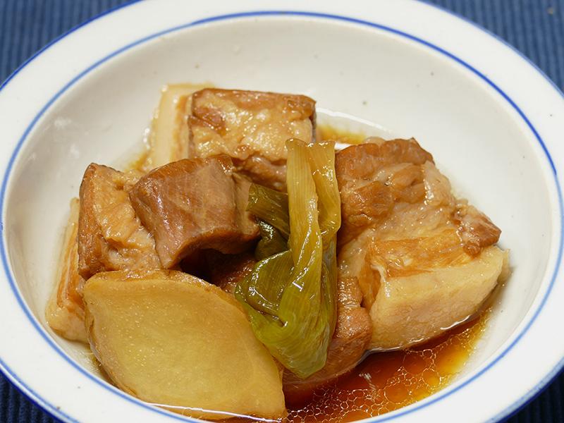たった30分程度で柔らかな豚肉の角煮が完成した