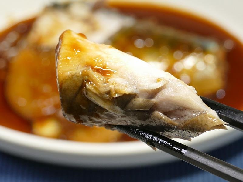 自分史上最高のさばの味噌煮。身がプリプリふっくら。ほんと美味しい!