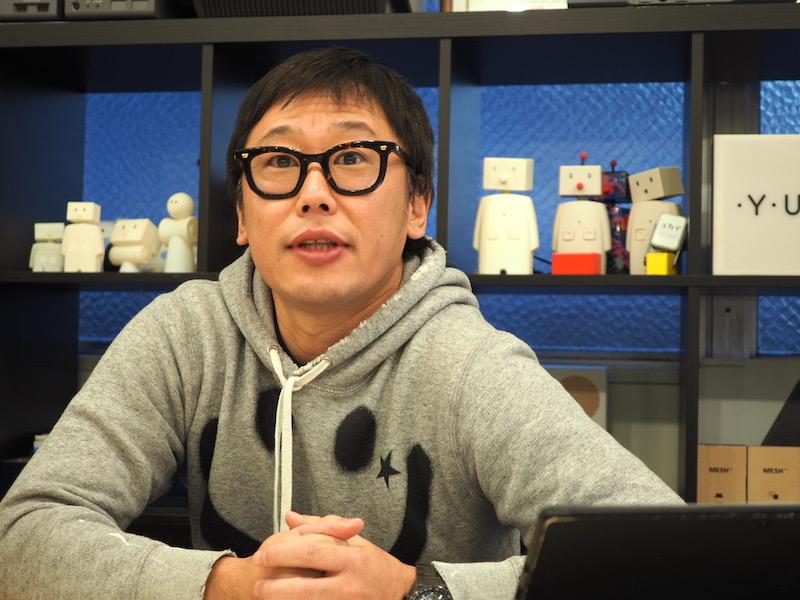 「現行のBOCCOが色んな使われ方をしているのを聞いて、ロボットの面白い部分が分かりました」と語るユカイ工学の代表、青木 俊介氏