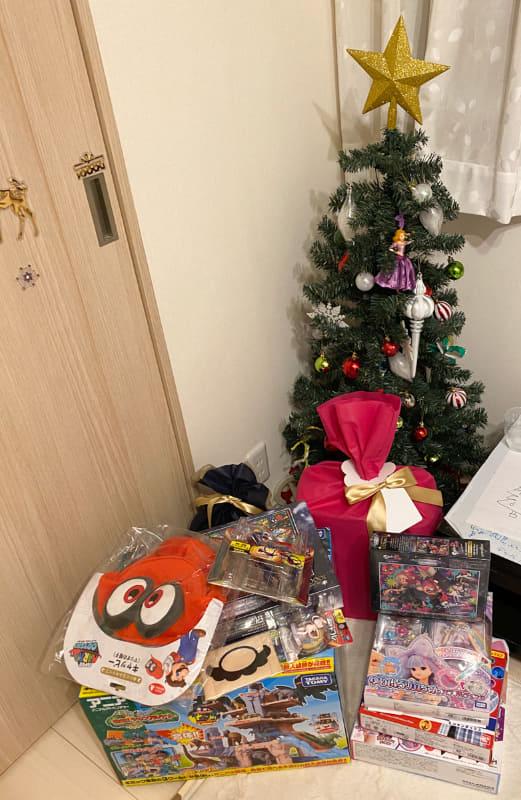娘と息子の二人分クリスマスプレゼントがこちら!