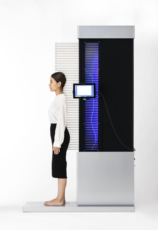 「寝姿勢測定機」の新機種