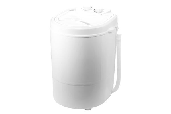 洗いブラシ付きポータブル洗濯機 ブラシ de洗い・NEO RM-107TE