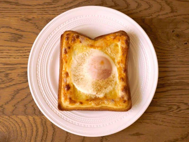 このエッグトーストがおいしすぎて、何度もリピートしました