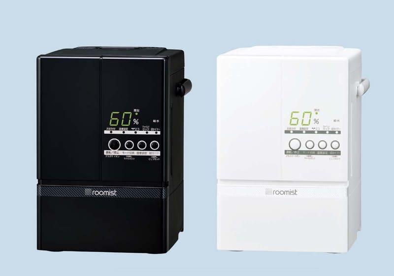 roomist SHE60TDは10/17畳(木造和室/プレハブ洋室)向け。このほか、6/10畳向けモデルのSHE35TDもあります