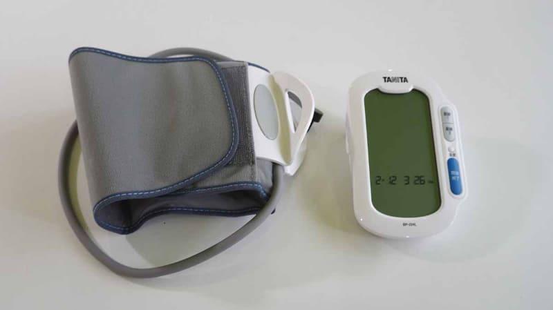 上腕式(カフ式)の血圧計。人気があるタイプ