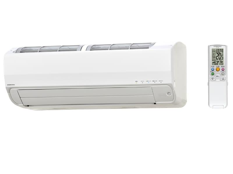 冬の部屋干しはエアコンを上手に使おう。写真はエアコン「ReLaLa」のZシリーズ