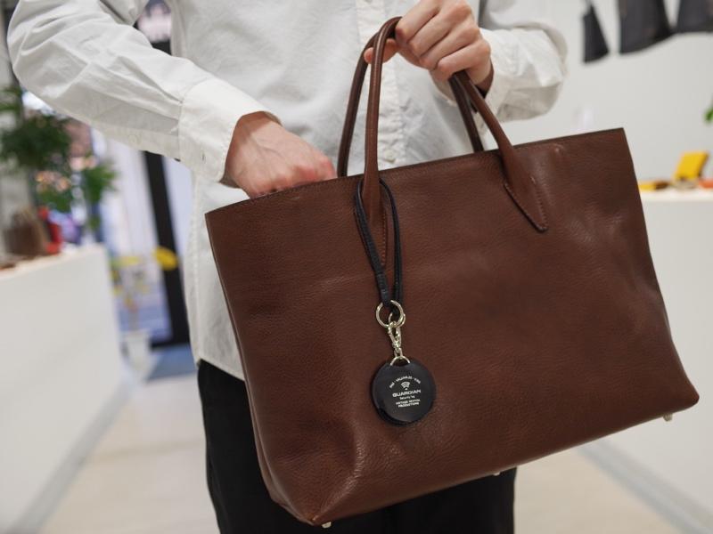 スマホと連携し、バッグなど荷物の紛失を防ぐ