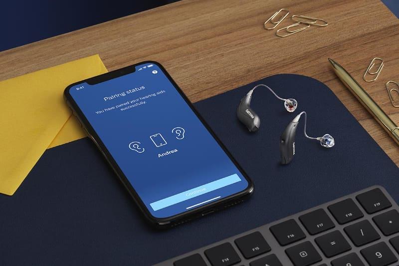 スマートフォンとダイレクトに接続できる