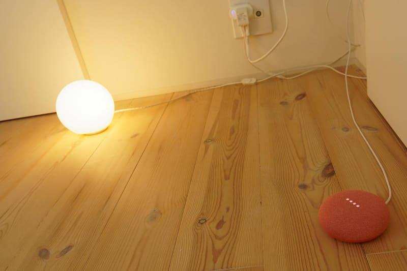 声だけで明かりを点灯/消灯したいときも便利