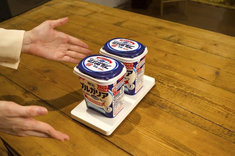 ヨーグルトなど、中が見えないパッケージの食材にもおすすめとする