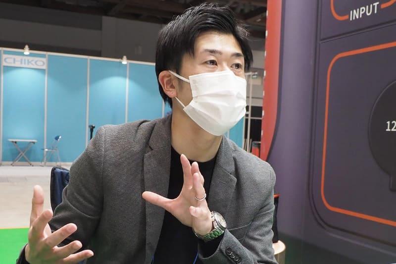 Jackery Japan 経営管理部 部長の水嶋雅貴氏