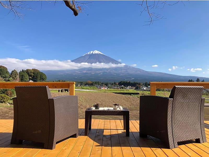 富士山デッキ
