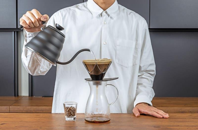 蒸らしが必要ないコーヒードリッパー