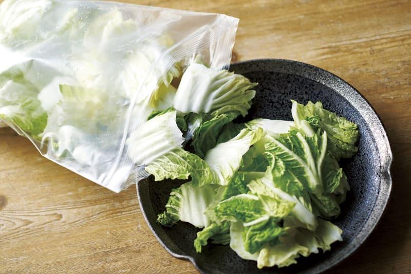 白菜もパラパラのまま使用可能