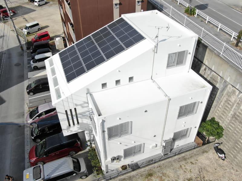 かりーるーふを導入中の住宅